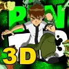 3D Ben10 Sliding Puzzle