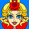 Alice in Wonderland: The Red Queen Coloring Game