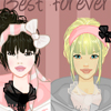 Best friends forever dress up game