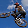 Bike Jumping Jigsaw Puzzle