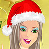 Christmass girl dressup