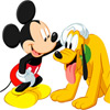 Disney Mickey and Pluto Slider Puzzle