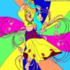 Kid's coloring: Dance