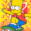 Simpsons Bart Skater