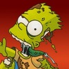 The Simpsons Bart Zombie